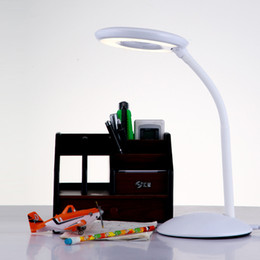painting abs plastics Coupons - Warm Light Table Lamp Study 3 Colors Touch 1200mAh Rechargeable LED Reading Desk Lamp USB Table Light Flexo Lamps Table Dimming