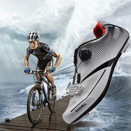 2019 zapatillas de ciclismo nuevas Zapatillas de ciclismo para hombres, transpirables, zapatillas suaves para hombres, bicicletas, deportes de cierre automático, bicicleta de montaña Nuevo zapatillas de ciclismo nuevas baratos