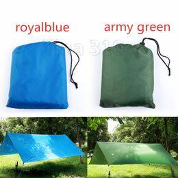 Tappeti da campeggio online-Nuovo Camping Mat impermeabile 3 * Tenda 3M materasso esterna in tessuto multifunzione tenda Tarps Canopy Picnic Mat Mat terra Ombra T2I5090