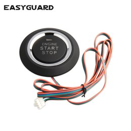 series engines Coupons - EASYGUARD Replacement push engine start stop button for ec002 es002 ec008 series P1 style car