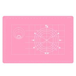 2019 матирующий мат Нескользящий силиконовый коврик для кондитерских изделий Extra Large с размерами 60x50cm Силиконовый коврик для теста для выпечки теста Fondant / Pie Crust Mat дешево матирующий мат