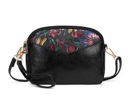 bolsos de estilo japonés Rebajas Diseñador de bolsos de las mujeres de la flor del cuero casual de las señoras diseñador bolsos de hombro femenino del monedero 2020 de lujo diseñador de bolsos de mano de la PU monederos xqp00