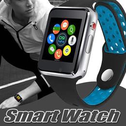 Paquetes de seguimiento online-M3 Smart Watch Pantalla táctil Android Smartwatches Fitness Tracker con 1.54 pulgadas LCD SIM teléfono móvil inteligente con paquete al por menor