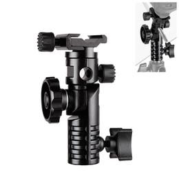 Estúdio de fotografia kits de estúdio de fotografia hpusn adaptador de sapata hot montagem de metal universal de flash 1/4 \