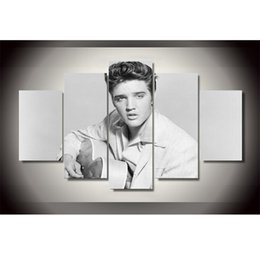2019 décorations elvis Elvis Presley Con Guitarra -2,5 Pieces HD Impression sur Toile Décoration de la Maison Nouvelle Art Peinture / Sans Cadre / Encadrée décorations elvis pas cher