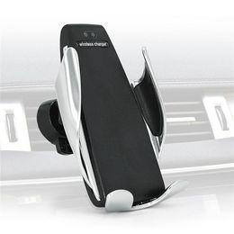 cargadores inalámbricos baratos Rebajas Cargador inalámbrico de alta calidad cargador de iphone Sujeción automática Cargador inalámbrico para iPhone Soporte de teléfono para Android No es el barato