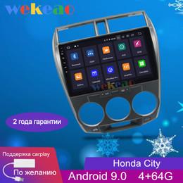 2019 dvd tv tuner tiguan Wekeao la pantalla táctil de 10,1 '' Android 9.0 el coche Dvd Reproductor multimedia para radio de la ciudad Automotivo 2008-2013