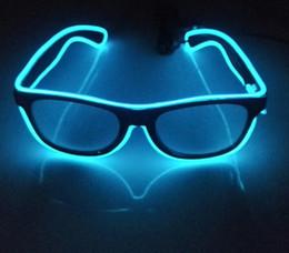 a55a1882d9 Novedad par especial de gafas luminosas led fluorescentes nuevas gafas de sol  luminosas PROM