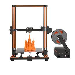 2019 repus prusa i3 kit Heißer großer 3D-Drucker Anet E16 Hochpräzises Doppel-Y-Achsen-3D-Druckerset mit großer Baugröße von 300 * 300 * 400 mm