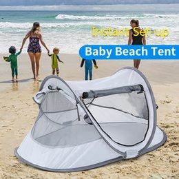 beach tents Coupons - Camping Tent Outdoor Kid's Beach Canopy Camping Tent Indoors Baby Foldable Sun Shelter Cabana for Baby Kids