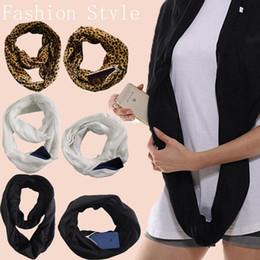 2019 neuheiten schals Neuheit warme Schals Frauen Winter Cabrio Infinity Schal mit Reißverschluss Damenmode Kreis Schal Schals günstig neuheiten schals