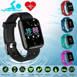 fitness relógios para homens Desconto 116 PLUS Pulseira Inteligente À Prova D 'Água Rastreador de Fitness Relógio de Pressão Arterial Monitor de Freqüência Cardíaca Banda Inteligente Mulheres Homens PK Fit Bit