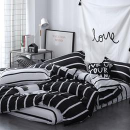 kaninchen print duvet Rabatt Duvet dreiteilig Duvet Pillowcase Einfache Leben volle Größe Falten und hypoallergen Bettbezug Beddingset Bettbezug-Set