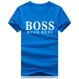 hip hop para la venta Rebajas Venta caliente de la marca de moda cuello redondo camiseta del verano nuevos hombres mujeres camiseta Hip Hop camiseta ocasional 9 colores