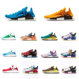 Nouveau 2019 HUMAN RACE Hommes Chaussures De CourseNMD Pharrell Williams sneakerl Oreo Nobel encre Tie Dye Solar Pack Mère concepteur Avec taille de boîte 36-46 ? partir de fabricateur