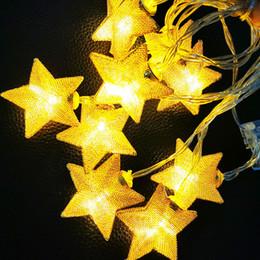 Luzes da bateria do casamento ao ar livre on-line-Luzes Da Corda LED 1.5 M 3 M 4.5 M Estrela Fada De Cobre De Luz de Cobre Bateria Operar Luzes de Decoração de Casamento Ao Ar Livre Indoor de Natal