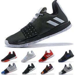 2019 I più nuovi james harden 3 vol.3 Wanted Scarpe da basket da uomo di alta qualità Trainer Sport Sneaker taglia 40-46 da