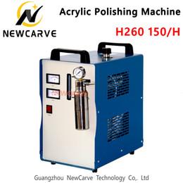 H260 150L Akrilik Alev Cila Makinası Oksijen Hidrojen Parlatıcı 220V Takı Kaynak Makinası NEWCARVE nereden yağlıboya resim çerçeveleme tedarikçiler