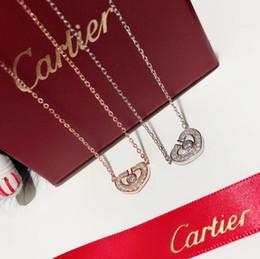 Canada Bijoux de créateur de luxe Les femmes pendentif croix pour les hommes en argent 925 fashion avec chaîne en plaqué or blanc collier femme bijoux en acier inoxydable Offre