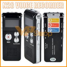 N28 Şarj Edilebilir 4 GB 8 GB Mini USB Flash Dijital Ses Ses Kaydedici Kalem MP3 Çalar ile 650Hr Dictaphone Telefon nereden