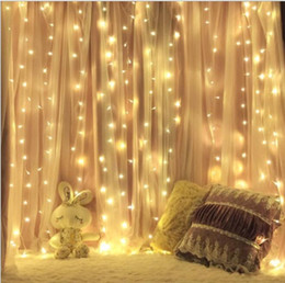 LED ışık 3x3 M dize Icicle 300 leds perde Peri Işıklar Düğün Dekorasyon Noel noel Açık Ev bahçe parti dekorasyon Elektronik nereden