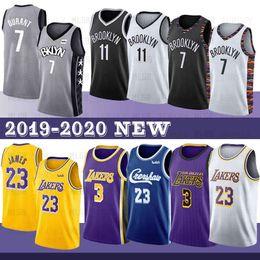 Camisas de basquete on-line-James 7 Kevin Durant NCAA 23 LeBron Jersey rving Davis Homens Anthony 72 Biggie Preto Kyrie College Basketball Jersey