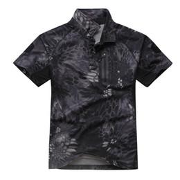 Chemises de l'armée en Ligne-Haut tactique à manches courtes de l'armée de l'histoire de Shanghai pour hommes