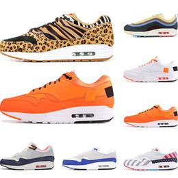 nike air max 1  hombre SEAN WOTHERSPOON ATMOS PARRA triple balck MIDNIGHT NAVY total naranja blanco amarillo para mujer zapatillas deportivas desde fabricantes