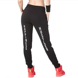 Felicidade negra on-line-Nova arrivel de Alta Qualidade Felicidade Hustler Skinny Sweatpants Bold Calças negras inferior P787