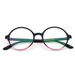 c5e75aedfe New Retro round frame fresh glasses frame Influx fashion flat mirror wild  glasses Eyeglasses Frames