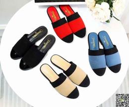 2019 zapatos de deslizamiento de enfermería Sandalias de verano de Cuero Genuino Baotou Media Zapatilla Mujer de Fondo Plano antideslizante Código Grande Guisantes Mujer Embarazada Mamá Enfermera Zapatos zapatos de deslizamiento de enfermería baratos