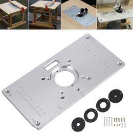 Маршрутизаторы для деревообработки онлайн-Многофункциональная алюминиевая фрезерная пластина с 4 кольцами для гравировального станка