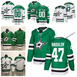 2019 Alexander Radulov Dallas Stars Hockey Jerseys Mens Cheap Custom Name  Home Green  47 Alexander Radulov Stitched Hockey Shirt S-XXXL 94611cf2c