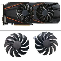 2019 ventilador de 85 mm 85mm T129215SU 4Pin Fan Para Gigabyte GTX1060 P106 1050 1070 RX 470 480 570 580 Cartões Ventilador de refrigeração desconto ventilador de 85 mm