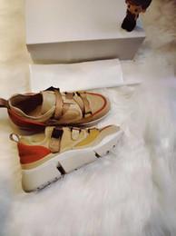 Chaussures SONNIE femme ins toile toile baskets rue tir à Paris all-match papa marque marée chaussures haricots bleus ? partir de fabricateur