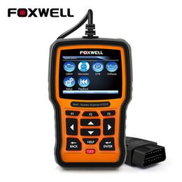 Argentina Foxwell NT510 ODB OBD2 Escáner para Mercedes Benz Coche Profesional Escáner de diagnóstico Servicio de aceite Reinicio de suspensión de aire Herramienta de reinicio Suministro