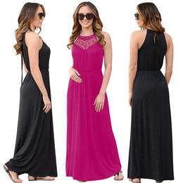 e0c34379c88d Distribuidores de descuento Vestidos Largos Negros Para Mujer ...