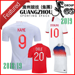 Camisetas de futbol de inglaterra online-2018 2019 camisetas de fútbol de inglaterra
