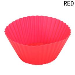 Livraison gratuite Cake Cup Silicone Muffin Cups Cupcake Moule De Cuisson Outils De Décoration De Gâteau Outils Pour Ustensiles De Cuisson Cupcakes Cake Stencil ? partir de fabricateur