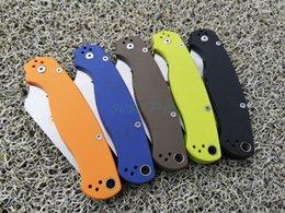 engranaje de garra karambit Rebajas cuchillo plegable del cuchillo SPID C81 G10 manija 440C del cuchillo táctico de la hoja de bolsillo de los cuchillos de caza que acampa EDC supervivencia al aire libre