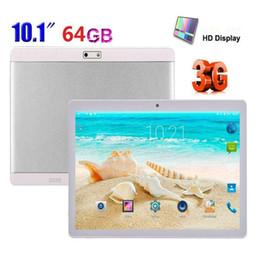 Tablet dual sim quad core on-line-201910.1 '' Tablet PC Android6.0 OctaCore 4 GB + 64 GB Dual SIM / Câmera Telefone Wifi Phablet