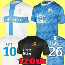 2019 chemise balotelli 2019 Olympique de Marseille BALOTELLI maillots de football 2020 Maillot de Foot PAYET L.GUSTAVO THAUVIN 18 19 20 OM Accueil 2018 chemises de football Kit chemise balotelli pas cher
