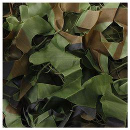 vêtements en tissu multifonction Promotion 7m x 1.5m Filet de camouflage Woodland Cacher Filet Armée Chasse Filet Camo
