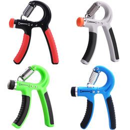 Tipos de ferramentas elétricas on-line-A-Type Ajustável Apertos Pesados Mão Fitness Gripper Exercitador Braço de Treinamento de Força de Pulso Mão Gripper Gym Power Fitness Ferramenta