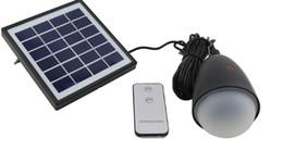 Sensor de luz solar portátil online-11 LED Solar Linterna Portátil Sensor de Bulbo Luz de Control Remoto IP65 Al Aire Libre Senderismo Pesca Pesca Tienda de Campaña Luz de Emergencia LLFA