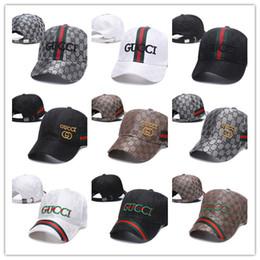 Gorras de béisbol al por mayor Marca de lujo gorra de bordado Sombreros  para hombres snapback sombrero para hombre sombreros casquette visera gorras  hueso ... e67715f82ff
