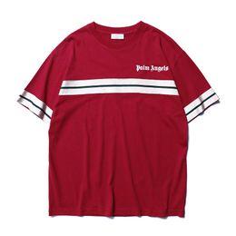 Argentina 2019 New Palm Angel Angel New Weave Bandwidth Pine Print Camiseta de manga corta para hombres y mujeres Suministro