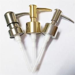 chumbo líquido Desconto Bomba de Dispensador de Imprensa de Garrafa de Lavagem à mão Acessórios de Banheiro Bico de Sabão Líquido Plástico Adequado Para Diâmetro 2.5 CM
