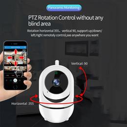 Monitores inteligente Inicio de seguridad inalámbrica Mini cámaras IP de seguimiento auto de Vigilancia de Wifi de la cámara de visión nocturna 720P cámara CCTV para bebés desde fabricantes