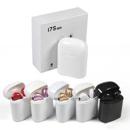 Vente chaude I7 I7S TWS casque Haute qualité vrai stéréo Écouteurs Sans fil Bluetooth Écouteurs In-Ear Avec Micro Pour iphone Andriod Téléphone ? partir de fabricateur